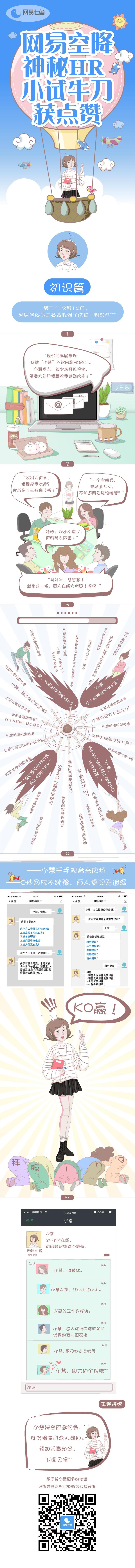 【网易七鱼】场景漫画第一版